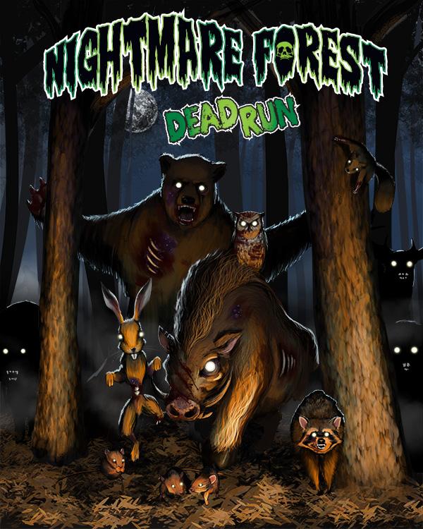 Nightmare Forest: Dead Run Cover Art
