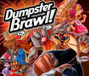 Dumpster Brawl! game box - cover