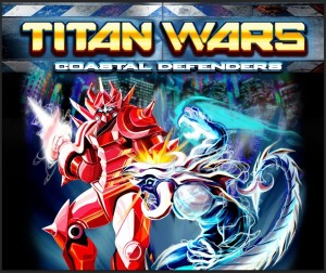 Titan Wars: Coastal Defenders logo