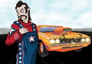Thrash car team - rednecks