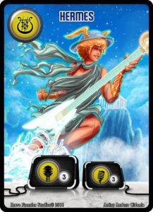 Hermes - Guitarist - Greek Pantheon - The Lords of Rock -