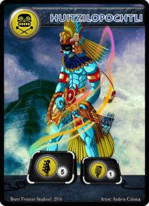 Aztec-Bass-Huitzilopochtli