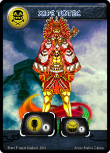 Aztec-Guitar-Xipe-Totec