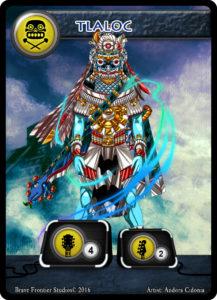 Aztec-guitar-tlaloc