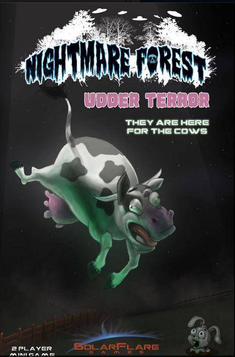 Udder Terror: Nightmare Forest -  Solar Flare Games