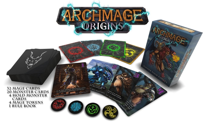 Archgmage Origins Box Contents