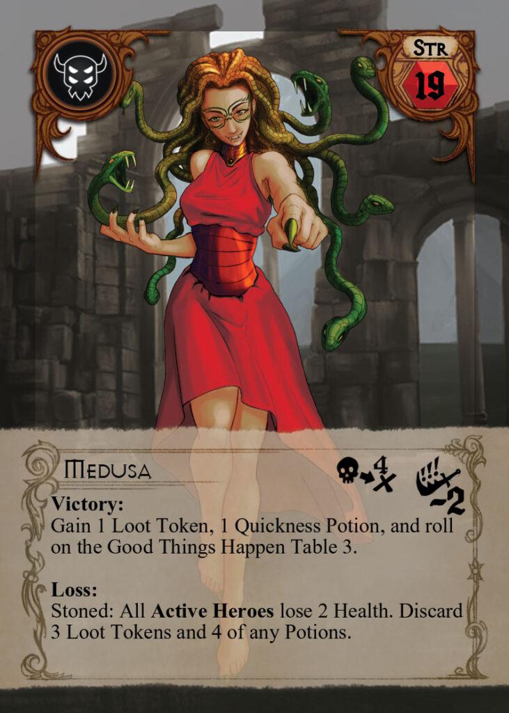 Quests Heroes of Sorcado_Medusa